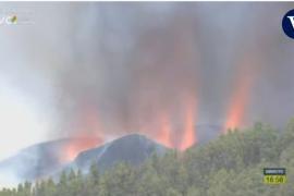 La Palma volcano erupts