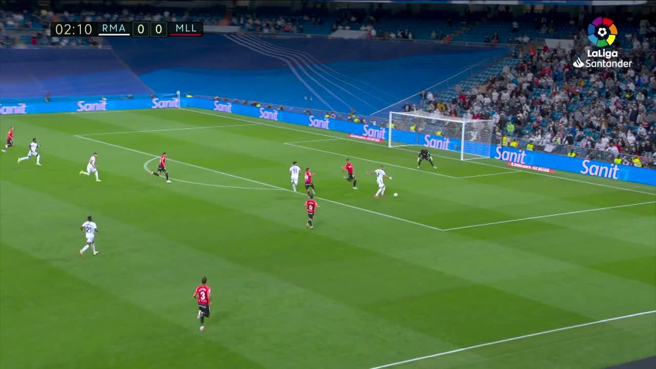 Real Madrid thrash Mallorca