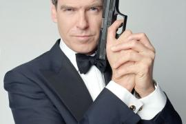 Actor Pierce Brosnan as James Bond
