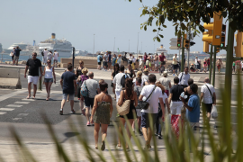 "Activists gather in Palma against tourist ""saturation"""