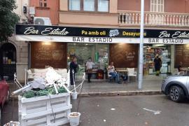 Bars in Palma, Mallorca have had to remove temporary terraces