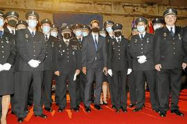 Rafael Nadal honoured by the National Police