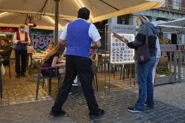 Restaurant terrace in Mallorca