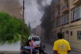 One injured in Cala Ratjada underground car park fire