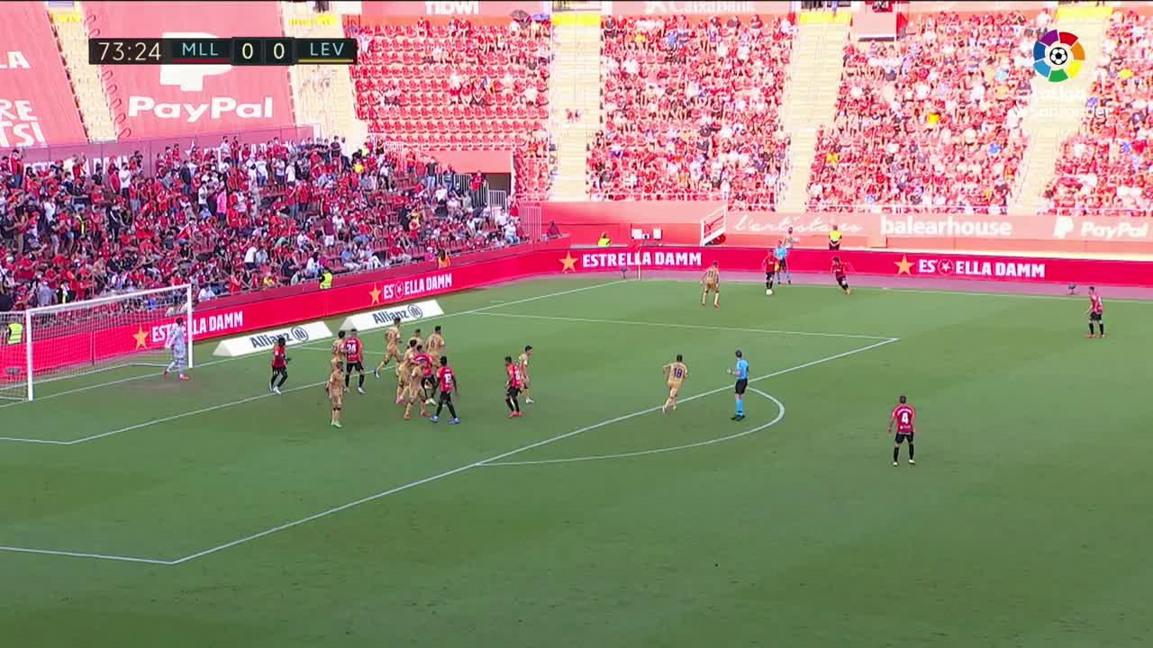 High tension game as Mallorca squeeze past Levante 1-0