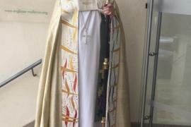 The Bishop came to Palma on Sunday
