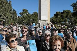 Demonstration against the demolition of Sa Feixina monument