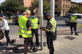 Police crackdown on electric scooters