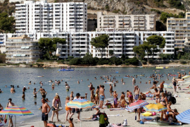 Britons took over Majorca in August