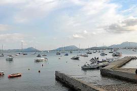 Boats in Puerto Pollensa, Mallorca