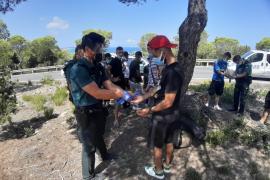 Migrants intercepted in Formentera