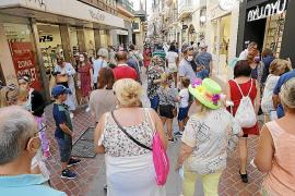 Palma packed for the October holiday