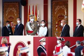 Spain's Sanchez urges unity as military parade returns on national day