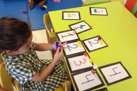 All about me - the nursery children at Queen's College investigate differences and similarities