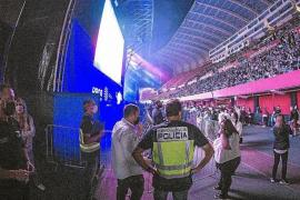 Huge Police presence at big events in Mallorca