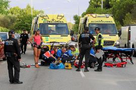 Norwegian roller skier serious after Majorca crash