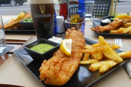 Fish and chips in the Top Ten