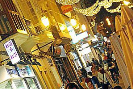 Palma Christmas lights being switched on a week later than usual