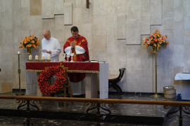 Anglican Church in Majorca commemorates Remembrance Sunday