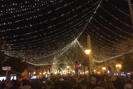 Palma is lit up for Christmas