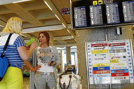 Palma airport is Spain's third busiest