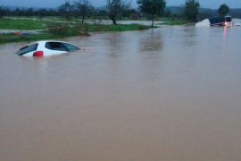 Serious flooding as more than a month's worth of rain falls on Majorca