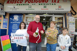 Majorca's luck is in with the Christmas Lottery