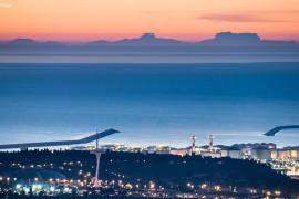 Majorca as seen from Barcelona