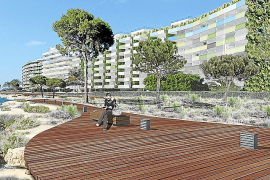 New coastal walkway for Santa Ponsa