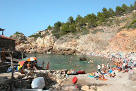 Cala Deya improvements being undertaken this winter