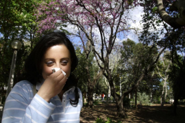 The pollen season has arrived early