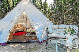 The rentals market moves into camping