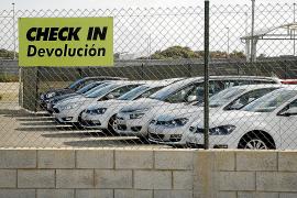 Too many hire cars in Majorca again