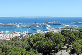 Cruise ships diverted to Palma for security reasons