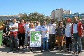 A thousand kilos of waste cleared off Calvia coastline