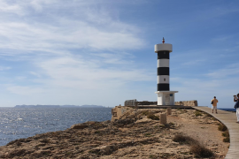 Lighthouse in the Colonia de Sant Jordi