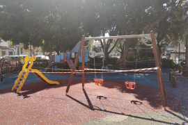 Playground in Plaza Progreso, Palma.