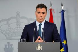 Prime Minister Pedro Sanchez.