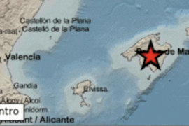Earthquake in Montuïri, Majorca.