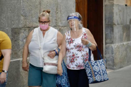 Face masks are mandatory from Monday in the Balearic Islands.
