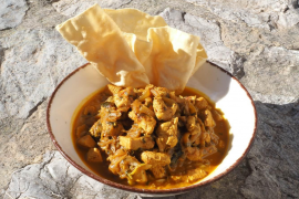 Turmeric gives curries their yellow colour and distinctive taste.