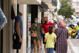 People wearing masks to protect against Covid-19.