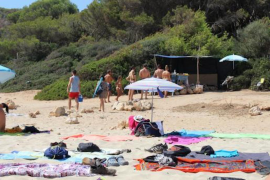 Cala Varquez beach bar, Manacor.