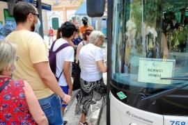Palma bus strike continues.