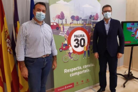 Francesc Dalmau, Mobility Councillor & José Hila, Palma Mayor.