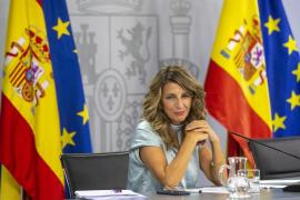 Spain's employment minister, Yolanda Díaz.