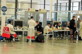 Migrants Mallorca Covid testing