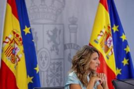 Yolanda Díaz, Labour Minister.