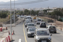 Traffic on Manacor road