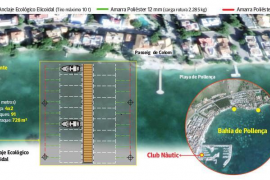 Project for floating piers in Puerto Pollensa